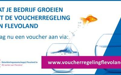 Nieuwe Voucherregeling Flevolandse Ondernemers
